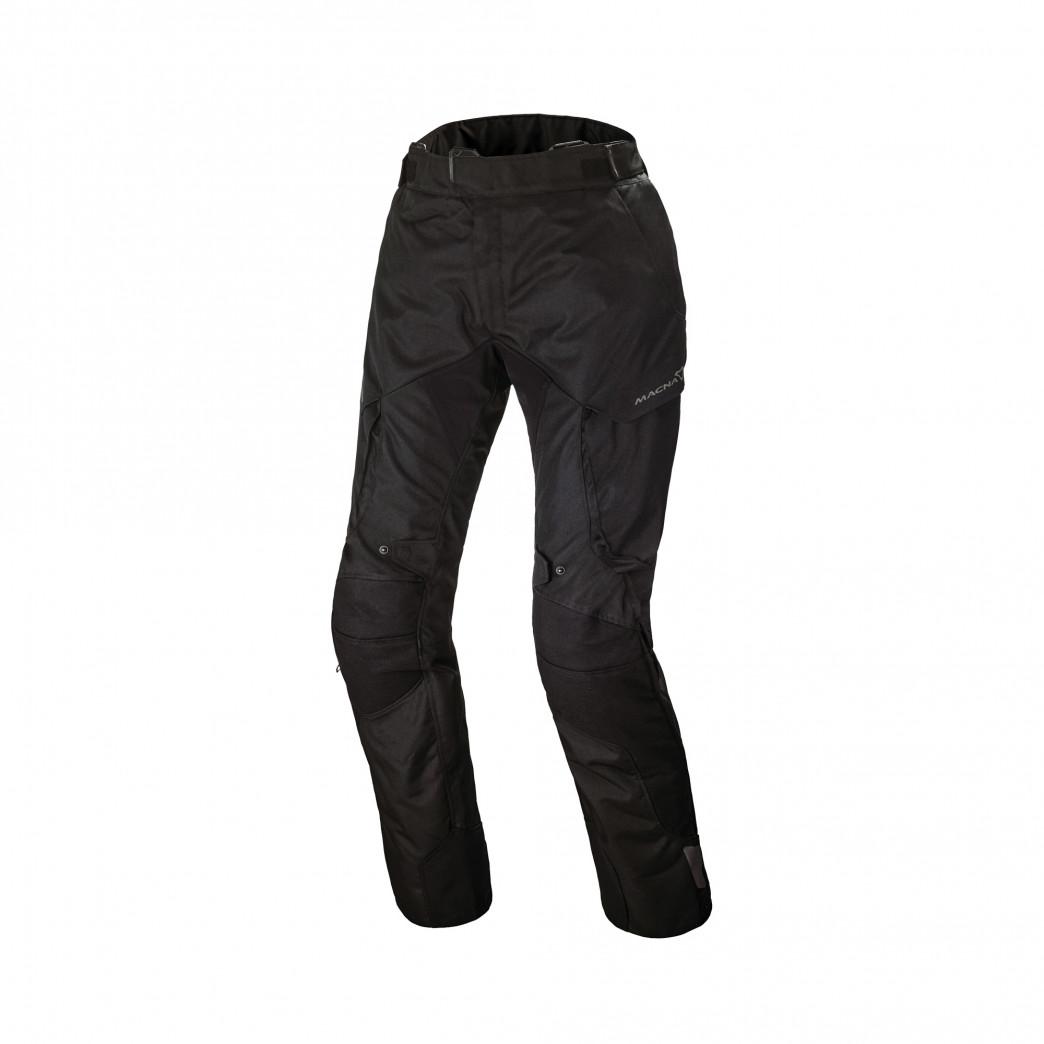Pantalones MACNA Forge Mujer Negro | motónity