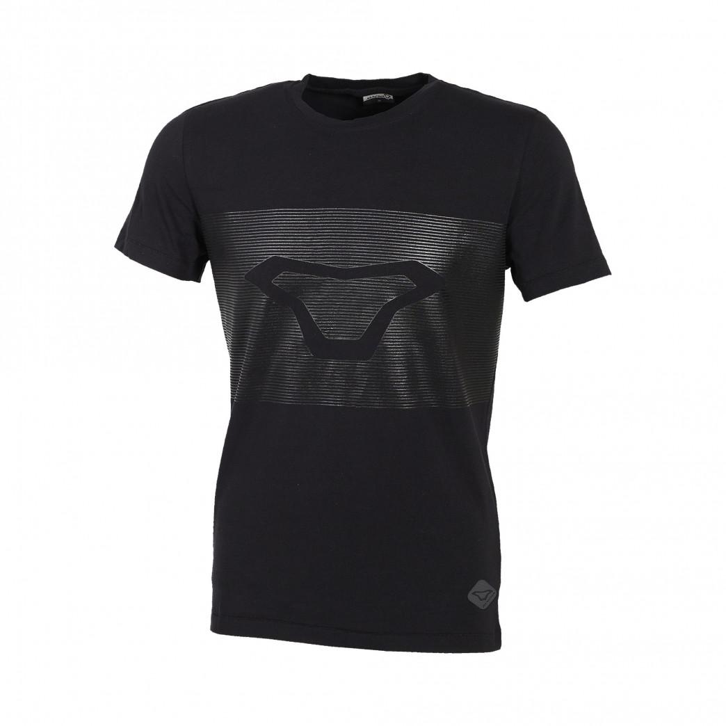 Camiseta MACNA Striper Negro   motónity